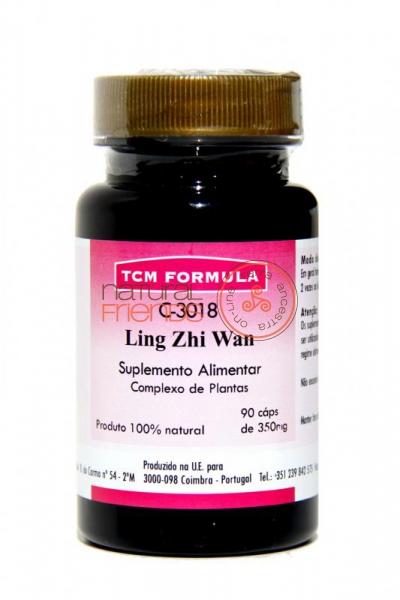 C3018 Ling Zhi Wan Cápsulas
