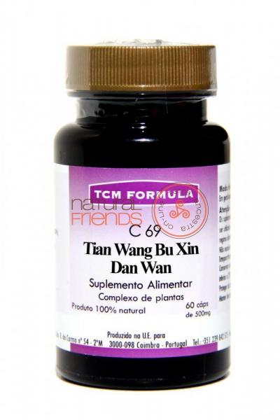 C69 Tian Wang Bu Xin Tan Wan Cápsulas