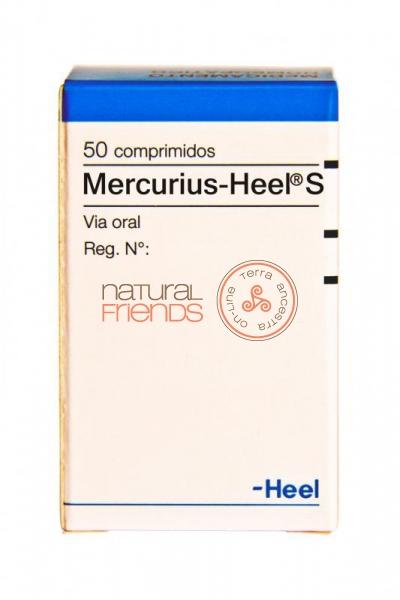 Mercurius-Heel S - 50 comprimidos