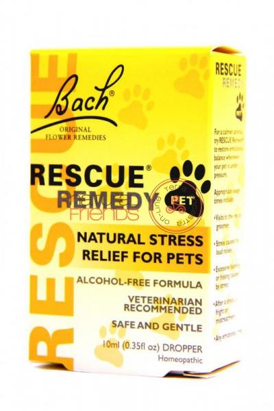Rescue Remedy PETS Gotas 10ml SEM ALCOOL