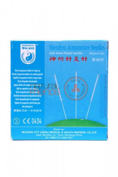 Agulhas para acupuntura Shenzhou Ø0,25x25mm