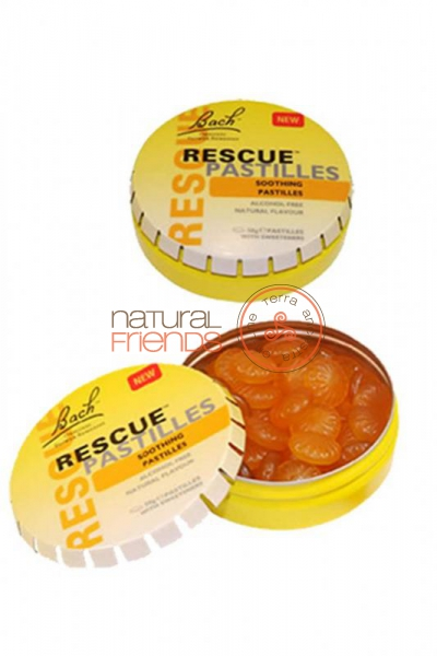 Rescue Remedy 50 Drageias (Laranja e Sabugueiro)