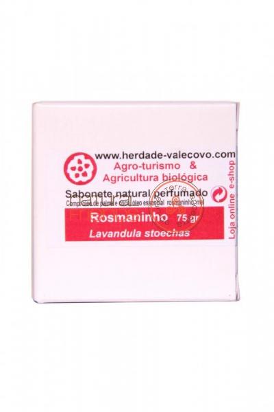 Sabonete Natural com Óleo Essencial de Rosmaninho