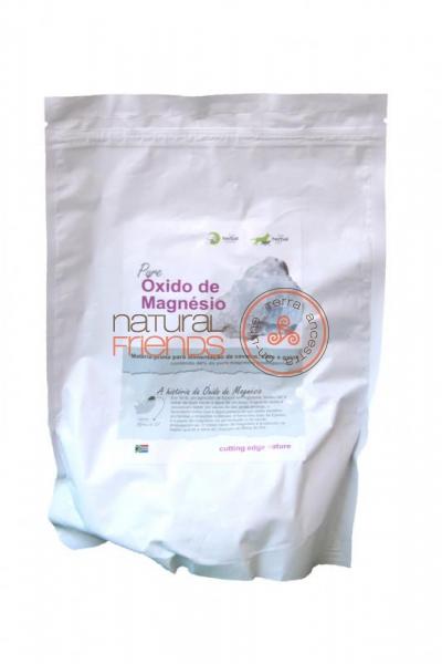 Pure Óxido de Magnésio 500gr