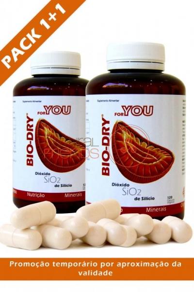 Bio-Dry For You 120 Cápsulas - PACK 1+1 (aproximação da validade)